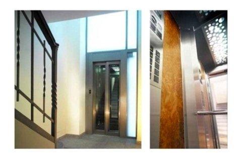 ascensori stile contemporaneo complesso residenziale