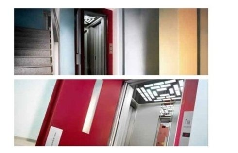 ascensori ad uso residenziale vari colori