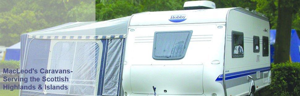 To buy a new caravan in Dingwall call MacLeods Caravans