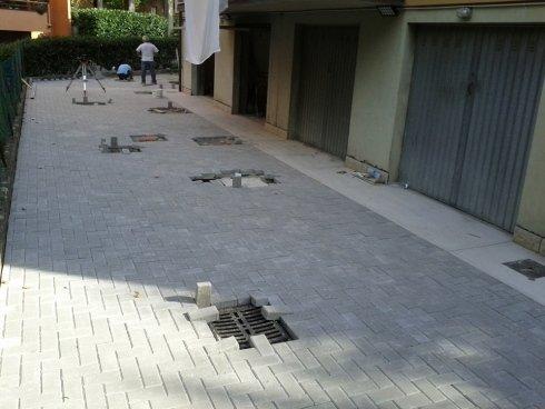 pavimentazione per esterni autobloccante