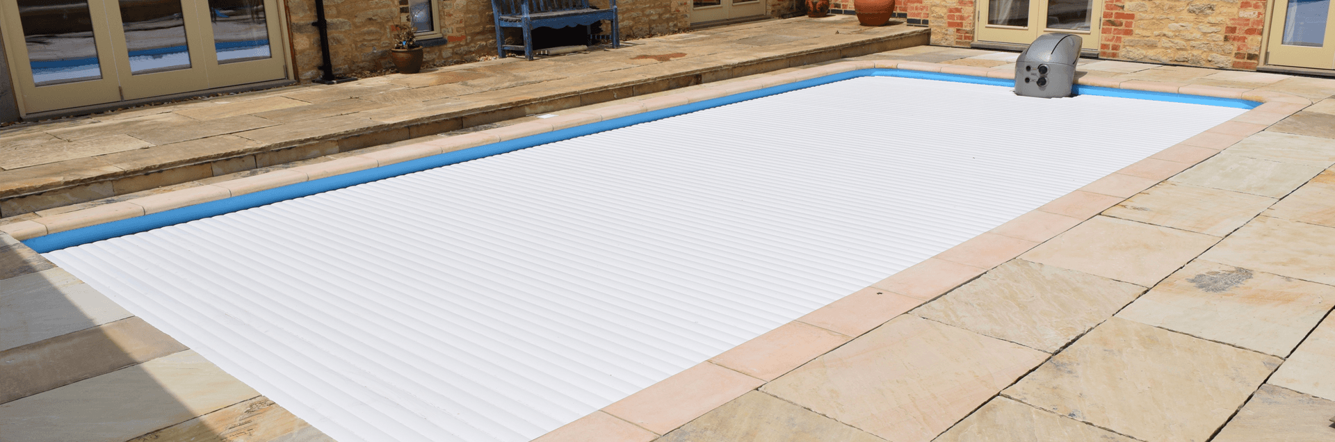 Propa pool with a safety cover