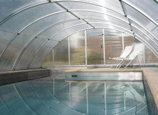 Arcus Original enclosure and pool