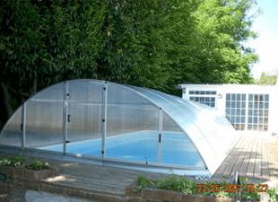 Original pool enclosure