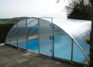 Arcus Original swimming pool enclosure