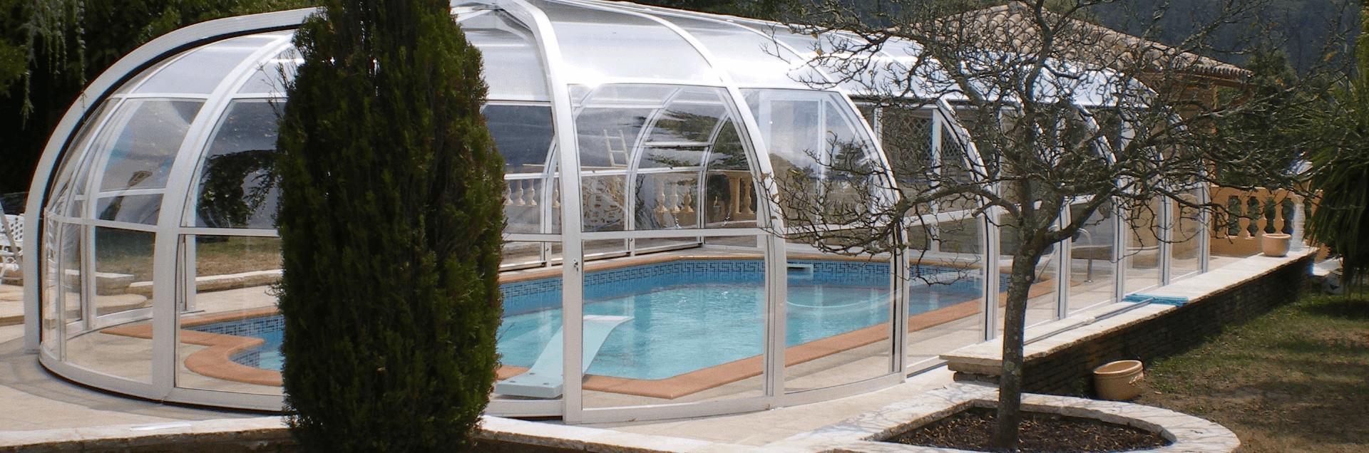 Arcus Original pool enclosure