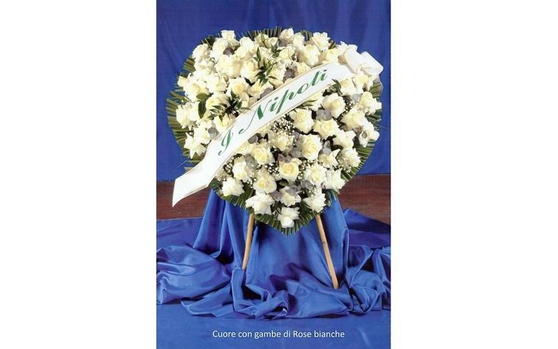 Corone di fiori per funerali