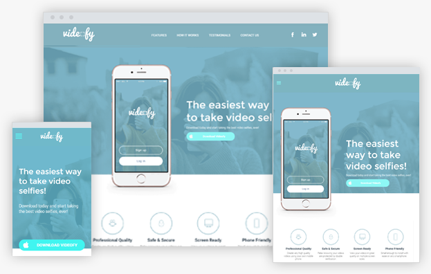 Click to open App Landing Page