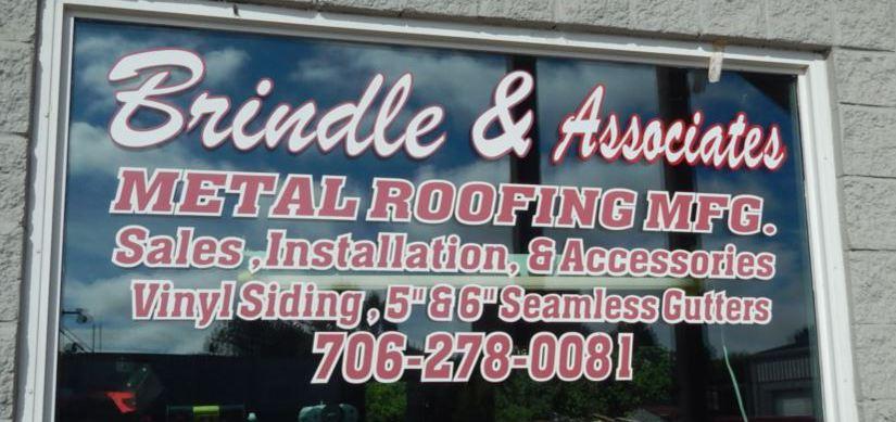 Brindle & Associates store window