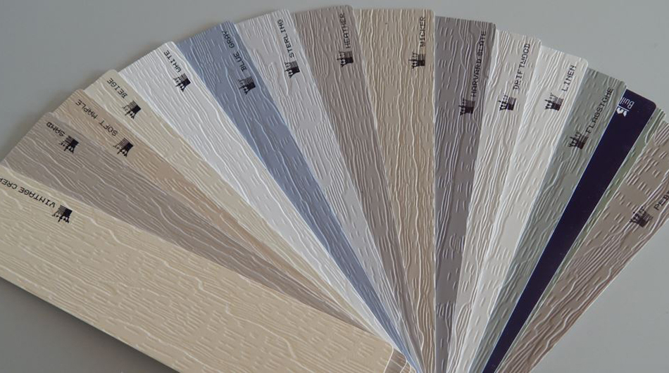 Different color siding options