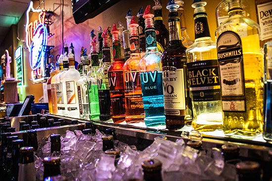 Bowling Alley Bar - Weston Lanes - Weston, WI
