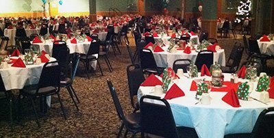 Holiday Party Banquet Reception - Weston Lanes