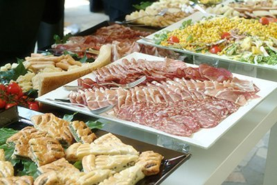 Banquet Catering - Deli Lunch Buffet - Weston Lanes