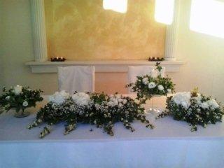 addobbi floreali per matrimoni