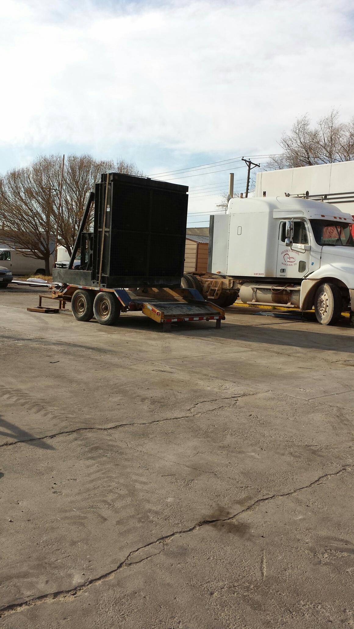 oilfield radiator service Midland, TX