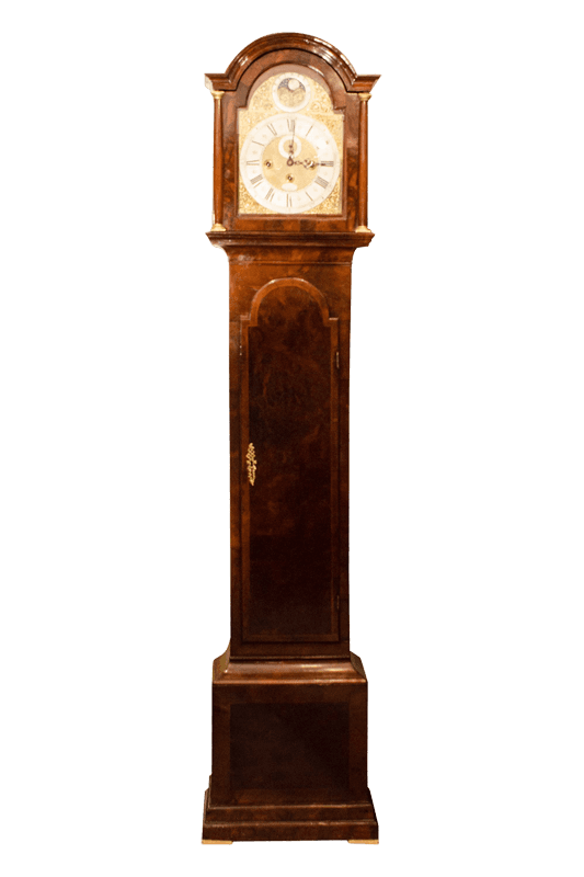 antique clock long case