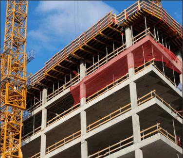 ponteggi per edilizia, noleggio gru, casseforme per edilizia