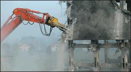 macchine per demolizioni, escvatori, autobetoniere