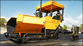 macchine costruzione strade, mescolatrici materiale edile, pinze