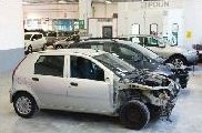 carrozzeria Zorzi, auto in riparazione