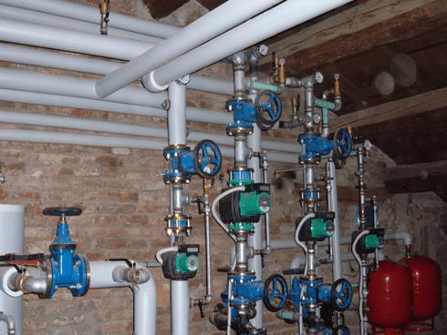impianto di riscaldamento condominiale