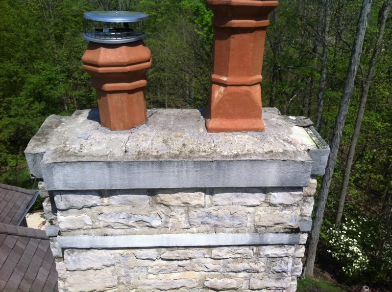 Chimney Caps West Chester Oh Dm Thompson Chimney Repair Specialist