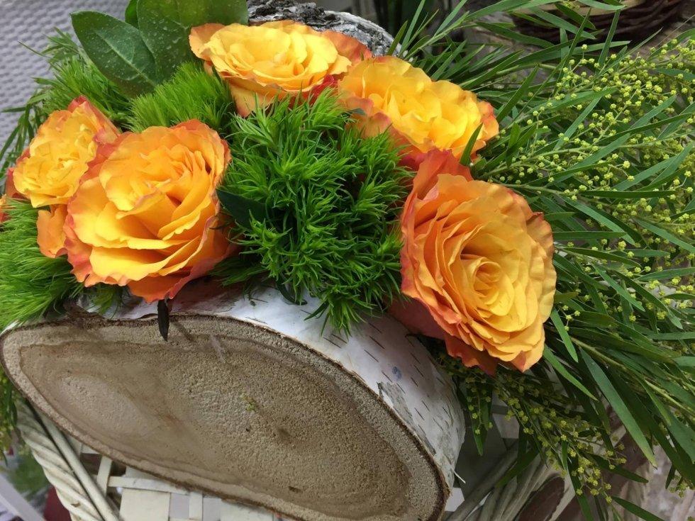 composizioni fiori e piante