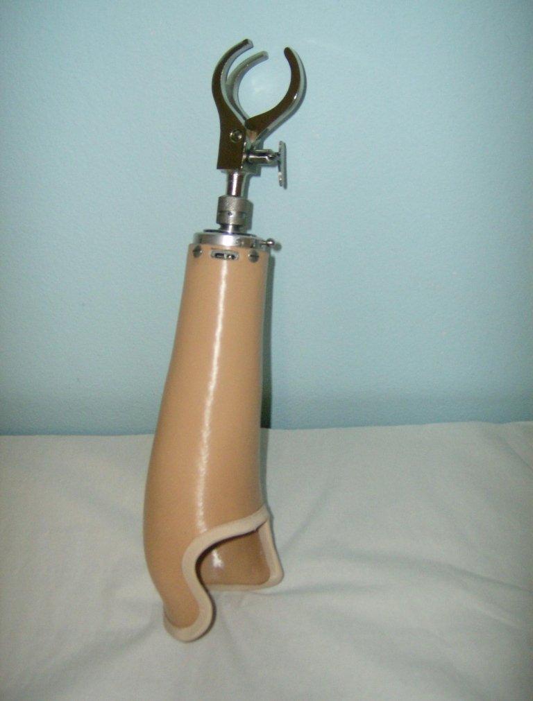 protesi di braccio da lavoro