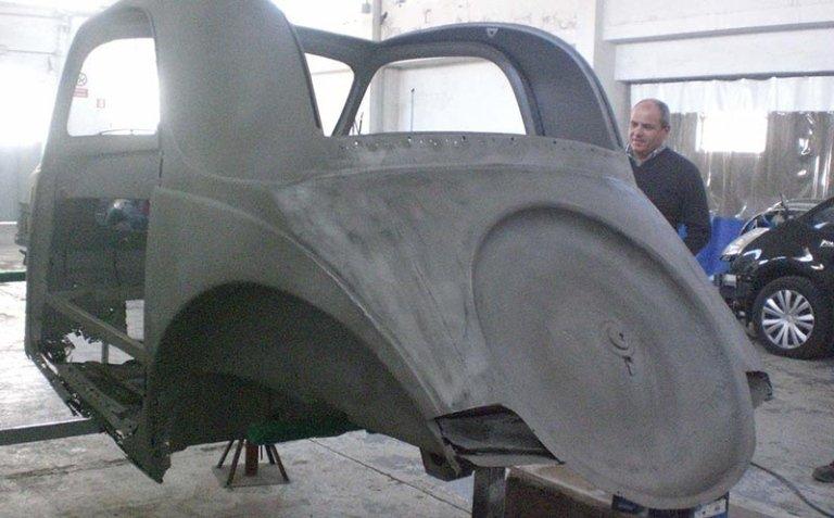servizio di restauro auto