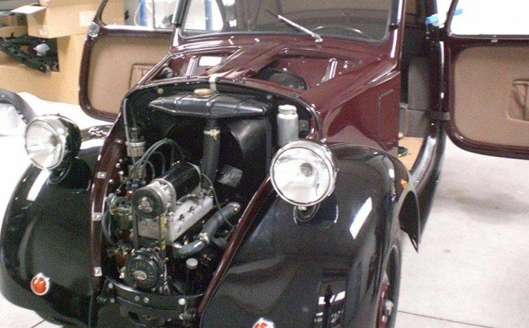 restauro di auto antiche