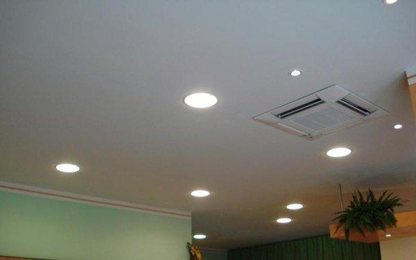 impianto illuminazione cartongesso