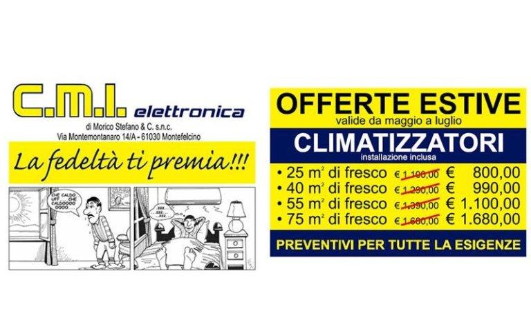 promozione climatizzatori