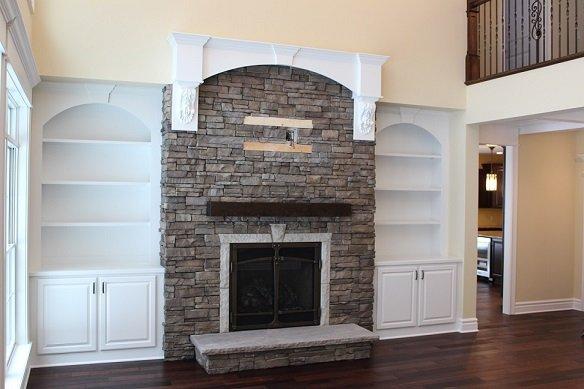 Custom Stone Fireplaces - Buffalo, Amherst & Clarence, NY