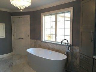 Custom Home Bathrooms - Clarence, Amherst & Buffalo, NY