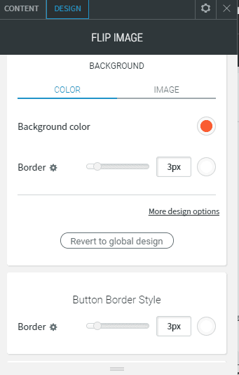 Flip image design background