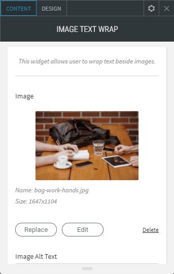 Film slider content upload images