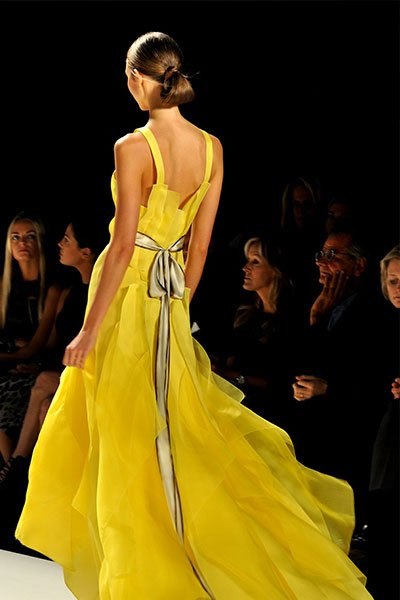 woman-in-yellow-gown