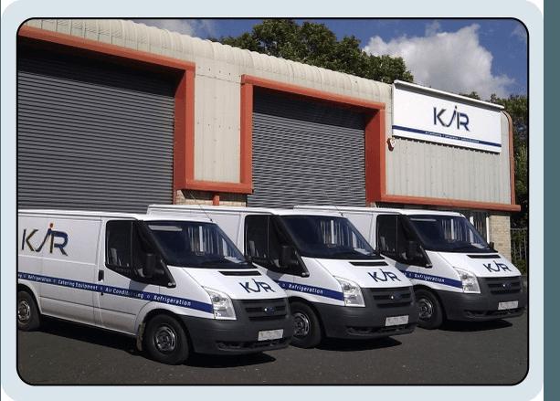 refrigeration installation - Exeter - K J R - our vans