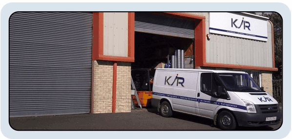 refrigeration suppliers - Barnstaple - K J R - Van