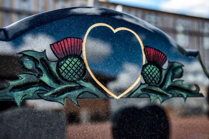 heart shape memorial