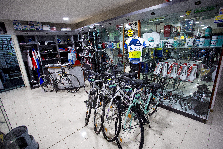 espositore biciclette