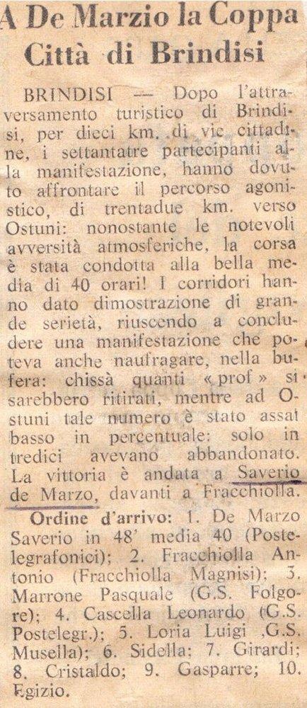 vecchio articolo di giornale