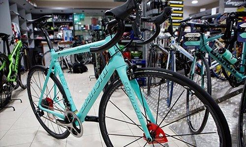 Mountain Bike azzurra in vendita