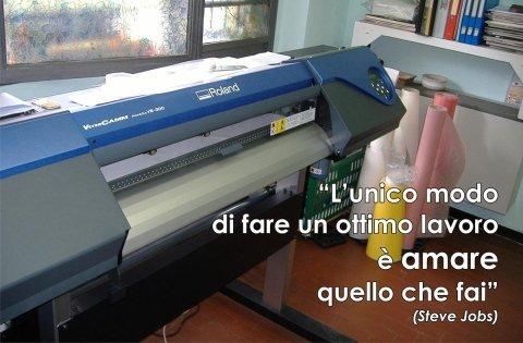 macchina stampa su tessuto