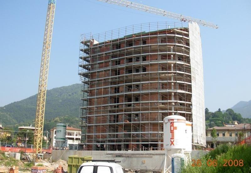 Condominio in costruzione