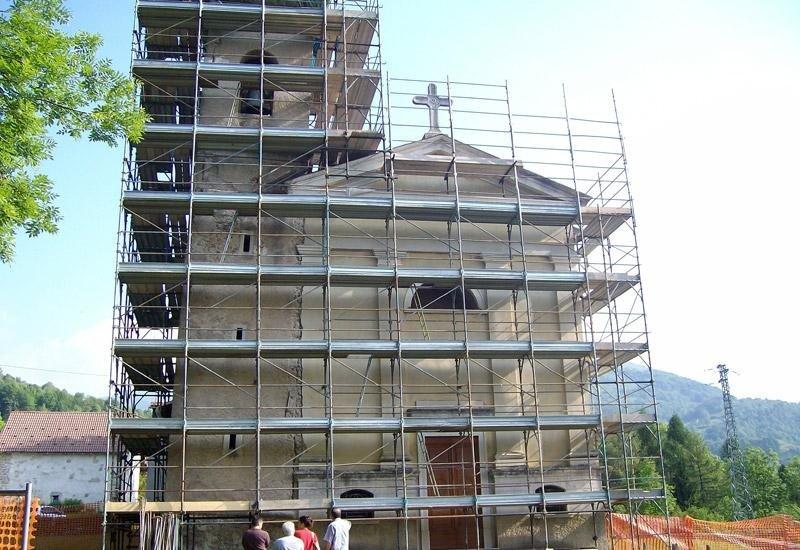 Restauro Chiesa Vedeseta