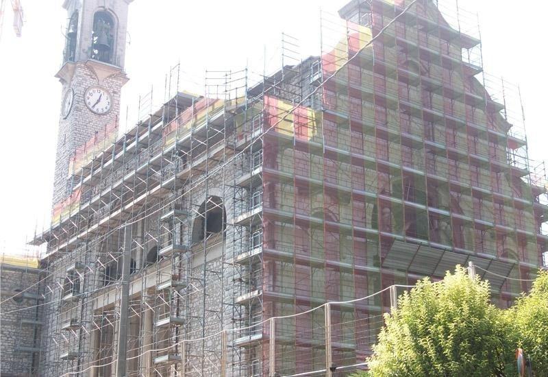 Restauro Chiesa Cornale di Pradalunga