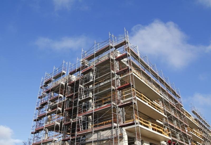 Ponteggi per impresa di costruzioni