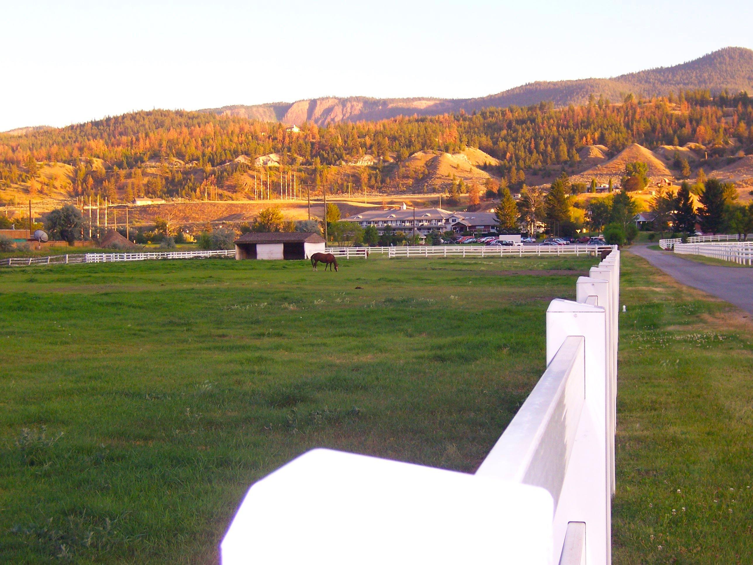Fall morning at the Inn