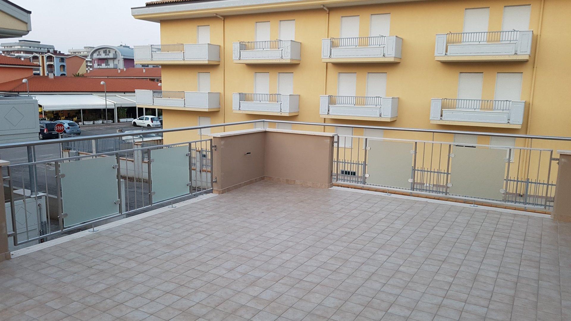 ringhiera per terrazzo