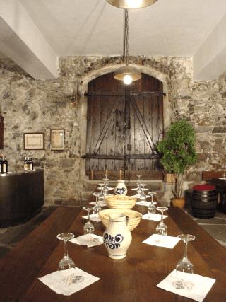 sala degustazioni